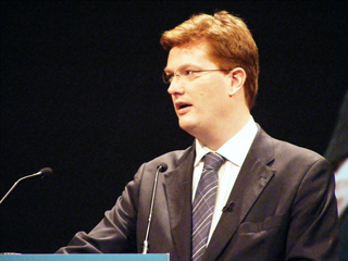 Danny Alexander MP (David Spender)