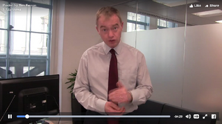 Tim Farron on Video