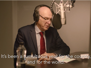 Vince Cable New Year Message 2018