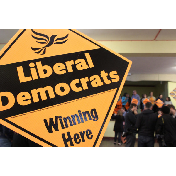 Lib dems winning here