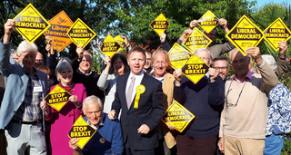 Hastings Rye Lib Dems winning here