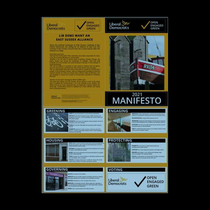 Hastings and Rye Manifesto 2021